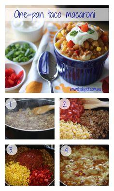 One-Pan Taco Macaroni Recipe - Dinner