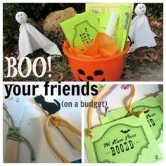 Happy Halloween! Want to start a fun a halloween tradition of BOO'ing your friends! This halloween giving idea is such a fun family activity and we like to do it every year for Halloween. The kids all get involved and we have a ton of fun! #teachmama #halloween #halloweenactivities #activitiesforkids #family #ideas #halloweenparty #traditions #holiday #boo #kidsactivities