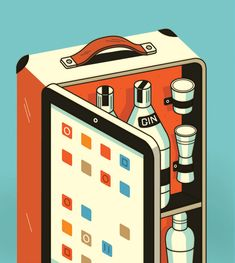 Someone please make this a thing.    Portfolio 1 by Harry Campbell, via Behance