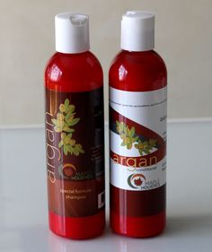Maple Holistics Argan Oil Shampoo   Conditioner | Review   Giveaway!