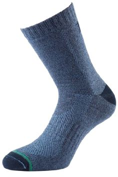 1000 Mile #Women's 1 Pair Tactel All Terrain Socks 5-7.5 Sapphire Made by #1000 Mile #Color #Sapphire. 1 Pair Pack. Standard Cuff. Normal Seamed Toe. Please note: sizes are U.S. Sizes.