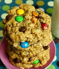 """Monster Cookies! """"Yum! A soon on the traditional peanut butter cookie.""""  @allthecooks #recipe"""