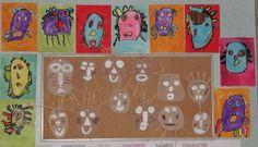 masques en carton
