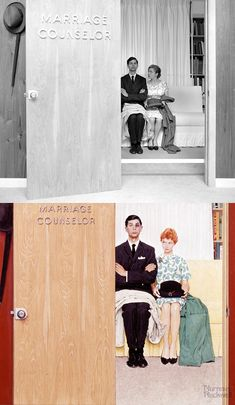 Norman Rockwell reference photos alongside... | DAVID MARQUEZ