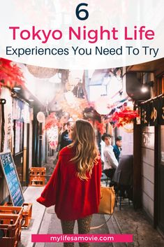 6 must try Tokyo night life experiences you need to try while you are in Japan. 6 must try Tokyo Tokyo Travel, Hawaii Travel, Asia Travel, Italy Travel, Beach Travel, Croatia Travel, Thailand Travel, Bangkok Thailand, Travel Photographie