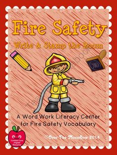 This fun, fire safety activity pack will help your students practice reading, writing, & learn themed vocabulary; a perfect complement to your seasonal activities!