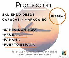 @Regrann from @turistukeando -  Todavía queda disponibilidad para Santo Domingo y Curazao.  Envíanos fecha de viaje nombre de los pasajeros y pasaporte para reservar. turistukeando@gmail.com 04127050963/04141542963 http://ift.tt/1iANcOy  #YoViajoLuegoExisto Viaja con nosotros// Travel with us  #Turistukeando#AmoViajar#promocion #boletoaereo #avion #fly #Curazao #Venezuela  #SantoDomingo  #vacaciones…