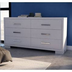 Found it at AllModern - 6 Drawer Dresser