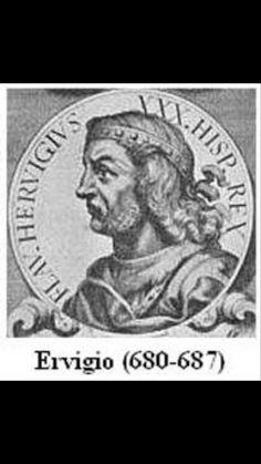 Ervigio. Rey de los Visigodos (680-687).