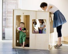 puzzle play house