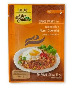 ASIAN HOME GOURMET Mild Spice Paste for Indonesian Sambal Stir Fried Rice 175 Ounce Pack of 6 * Read more reviews of the product by visiting the link on the image.Note:It is affiliate link to Amazon. #white