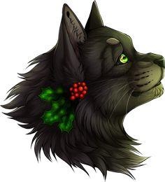 [Warrior Cats] Hollyleaf by Jeavieh.deviantart.com on @DeviantArt