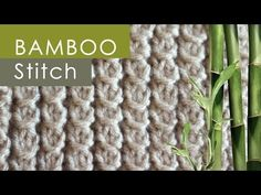 How to Knit the Bamboo Stitch Pattern with Studio Knit