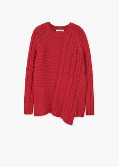 Pullover maglia combinato - Cardigan e pullover da Donna  0951f31eeff