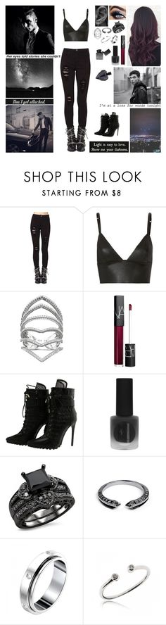 """""""✖ You give me a reason. Something to believe in. You give me a meaning. Something I can breathe in. It's a bittersweet feeling, longing and I'm leaving. Tell my heart to lie but I know deep inside it's true. That I wish I was there with you. ✖"""" by blueknight ❤ liked on Polyvore featuring Vibrant, T By Alexander Wang, NARS Cosmetics, Topshop, Core Jewels, Piaget and Sephora Collection"""