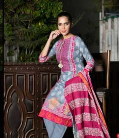 Monsoon Printed Cambric Suit collection By Al-Zohaib Textile AZ_5B
