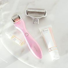 Find out how easy it is to achieve glowing skin with BeautyBio. Shop our line of science-based skincare products and GloPRO® microneedling rollers here! Castor Oil For Hair Growth, Hair Growth Oil, Body Firming Cream, Skin Head, Cedarwood Essential Oil, Even Out Skin Tone, Derma Roller, Facial Oil, Face And Body