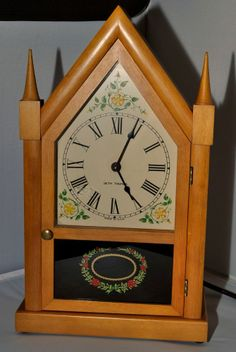 Seiko Gold Mantle Clock Model Number Qf002g Models Mantles And Clock