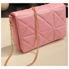 キルティング ミニショルダーバッグ Shoulder Bag, Bags, Fashion, Handbags, Moda, Fashion Styles, Shoulder Bags, Fashion Illustrations, Bag
