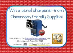 Winning the pencil war ~ a giveaway!