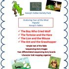 Aesop's Fable Bundle Buy the Bundle and Save by Skybird Teacher Resources  The Boy Who Cried Wolf The Tortoise and the Hare The Ant and the Grassho...
