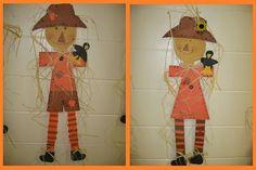 Fall and Halloween Bulletin Board Idea