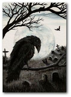'Watchful Eye of the Cemetery' by Amy Lyn Bihrle
