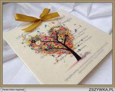 Zobacz zdjęcie zaproszenia ślubne z kalką :P nietypowe :) w pełnej rozdzielczości