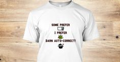 Humorous auto-correct on image.  Some prefer microwave, I prefer pot. http://teespring.com/new-camping-apparel