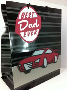 Dad Gift Bag using Father's Day cartridge