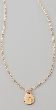 Virgo necklace!!