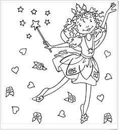 Ausmalbild Prinzessin: Kostenlose Malvorlage: Prinzessin und ...