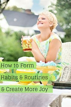 A podcast interview with Flylady Marla Cilley on how to form habits and routines and create more joy in your life. Click to listen and Save to pin for later. www.jumpstartyourjoy.com/episode46