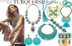 Ben-Amun Multi-Stones Crowned Turquoise Bracelet, Julie V... by Olivia Palermo