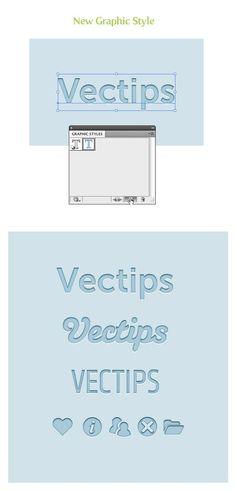 letterpress illustrator tut - Creating Editable Letterpress Styled Text