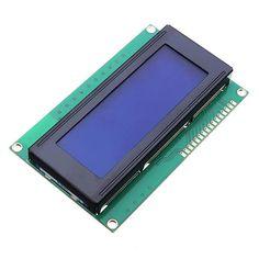 3Pcs 5V 2004 20X4 204 Pantalla azul del módulo de 2004A LCD Pantalla para Arduino
