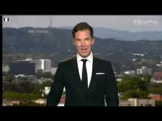 Oh, Just Benedict Cumberbatch Accepting An Award On TV In Swimming Shorts