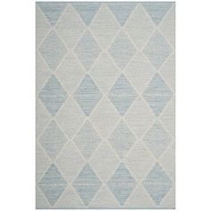 Oxbow Hand-Woven Light Blue Area Rug
