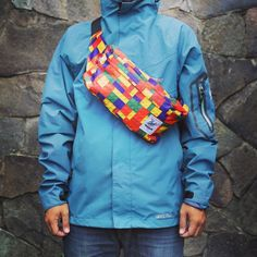 CUB TRAVELER Waist Bag Lego Brick, Urban bag with unique print Little pack for your simple activity but you can bring it to your Big adventure out there!!, #bags #bag #waistbags #waistbag #modernoutdoorsman #urbantraveling #urban #traveling #traveler #lego #explorebandung #products #apparel #outdoor