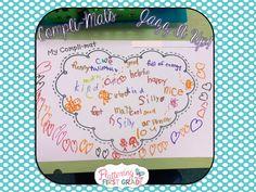 Fluttering Through First Grade: Kindness Activity for Kids Compli-Mats