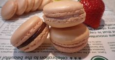Macaron Cookies, Macarons, Sweets, Bread, Snacks, Baking, Breakfast, Cake, Desserts