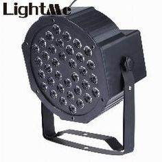 [ 26% OFF ] 36W RGB LED Flat Par Light Stage Lamp With EU US Plug For Home Entertainment And Professional Stage & DJ