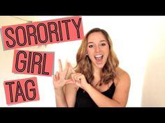 ▶ Sorority Girl Tag - YouTube