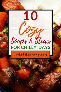 10 Slow Cooker Soups & Stews To Warm You Up on Cozy Days