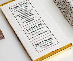 Le CV  tablette de chocolat de Charlotte Olsen