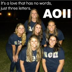 AOII Alpha Omicron Pi Delta Epsilon Chapter sorority quote