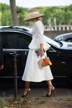 BONJOUR, COUTURE...Paris Couture Week Street Style 2015 - Diego Zuko Captures Paris Couture Week 2015