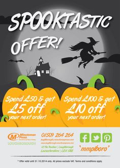 Grab our Halloween offer before it disappears!