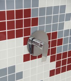 Make your own statement by mixing and matching different colours into patterns for a unique expression of your personal style Shower Bathroom, Mix N Match, House Colors, Make Your Own, Different Colors, Color Pop, Door Handles, Personal Style, House Design