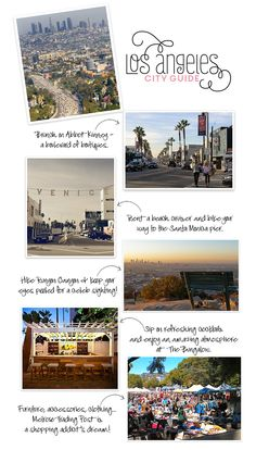 City Guide: Los Angeles